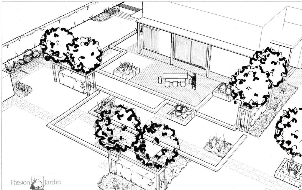 Passion jardin etude et conception de jardin for Etude de conception