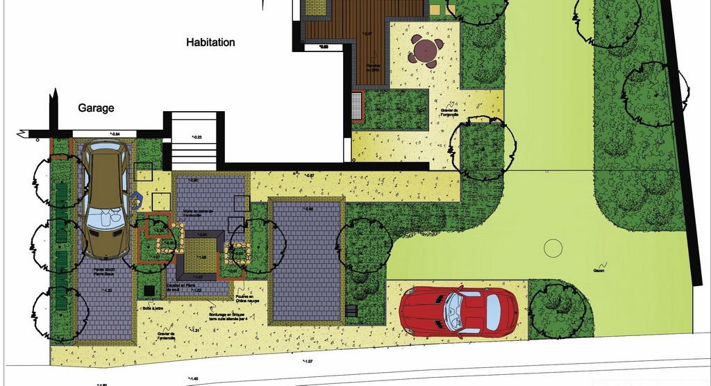 Passion jardin etude et conception de jardin for Cours de conception de jardin